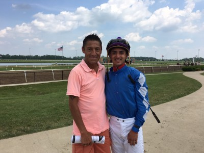 Lara Looks to Win First Stakes Race Aboard Hero Tiger in the Indiana Derby at Indiana Grand