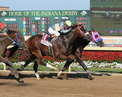 Big Stride for Little Kansas in Brickyard Stakes at Indiana Grand Racing & Casino