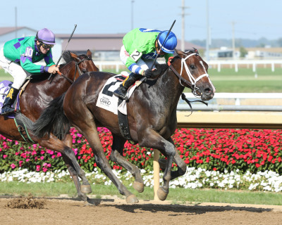 Two Last Words Speaks Volumes in Hillsdale Stakes at Indiana Grand Racing & Casino