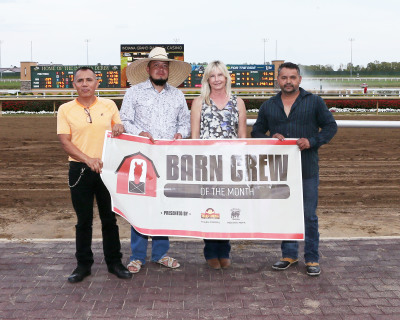 "Wisner Stable named Indiana HBPA's ""Barn Crew of the Month"" at Indiana Grand Racing & Casino"