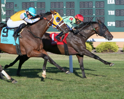 Baratti scores win in Don K Memorial  at Indiana Grand Racing & Casino